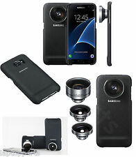 100% Genuine Samsung Camera Lens Case Cover Kit Telephoto For Galaxy S7 Black