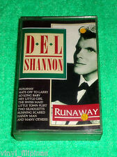 PHILIPPINES:DEL SHANNON - Greatest Hits - Runaway,TAPE,Cassette,RARE