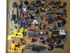 RARE Tomy Hasbro Zoids Motorized Saber Tiger Wolf Weapons & Accessories Lot LOOK