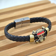 Hot One Piece Anime Bracelet Unisex Cosplay Bangle Cute For Fan Free Shipping
