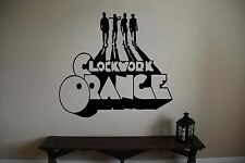 Clockwork Orange Movie Vinyl Wall Sticker Decal