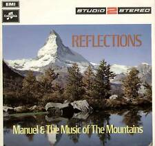 """MANUEL ~ REFLECTIONS ~ 1969 UK 12-TRACK """"STUDIO-2-STEREO"""" LP ~ COLUMBIA TWO 266"""
