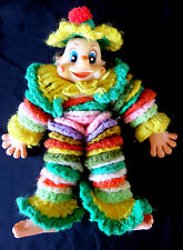 Old Vintage Crochet Circles Clown Doll Probably 1960's era Finished Project 60's