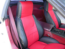CHEVY CORVETTE C4 1984-1993 IGGEE S.LEATHER CUSTOM FIT SEAT COVER 13COLORS