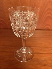 ANTIQUE AUTHENTIC EDWARDIAN (1910?) CUT GLASS CRYSTAL GLASSES X10. ROYAL STUART