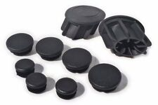 Pyramid Plastics Frame End Caps for the BMW R1200GS/GSA-LC '13/'14+, Black