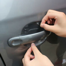 8pcs Car SUV Door Handle Invisible Protector Films Scratches Protective Stickers