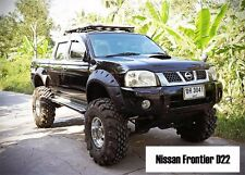 Jungle OFFROAD FENDER FLARES WHEEL ARCH FOR NISSAN FRONTIER NAVARA D22 1997-2015