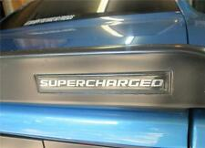 Dodge Challenger SRT8 Spoiler Body SUPERCHARGED 3D Domed self stick Emblem #SC2