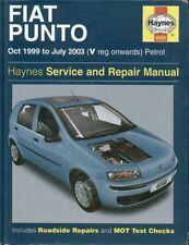 FIAT PUNTO mk2 1.2 LITRI 3 - & 5 PORTE BENZINA 1999 - 2003 Assistenza e Riparazione Manuale