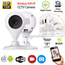 Wireless 720P WIFI IP Camera Pan Tilt Security CCTV P2P IR Night Vision Webcam