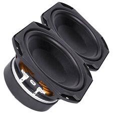 """Pair Faital Pro 5FE100 4ohm 5"""" Woofer Midrange Line Array Replacement Speaker"""