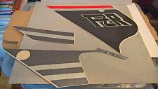NOS Yamaha Gauche Autocollant Carénage Graphique Set 3 3GM-2836V-11 FZR1000