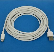 3M LONG Quick Charging ONLY USB Charger Cable WHITE for iPad Pro Air 2 4 mini 3