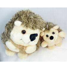 Set Of 2 Baby Hedgehog Soft Plush Toy Stuffed Animal Keychain Suction Cup New