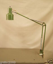 Vintage Industrial Desk Drawing Table Lamp Reliable Clamp Fixture adjustable arm