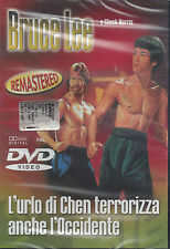 Dvd «BRUCE LEE ♦ L'URLO DI CHEN TERRORIZZA ANCHE L'OCCIDENTE» Chuck Norris 1972