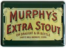 MURPHYS EXTRA IRISH STOUT Small Vintage Metal Tin Pub Sign