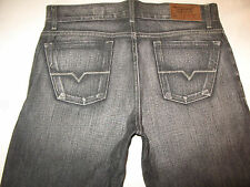 Guess Jeans Low Waist Bootcut Gray Black Distressed 33 X 34  NEW !!