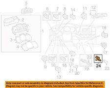 TOYOTA OEM 05-11 Tacoma Cluster Switches-Power Outlet Grey Cover 855350C010B2