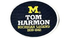 UNIVERSITY OF MICHIGAN LEGEND TOM HARMON PATCH COLLEGE FOOTBALL JERSEY PATCH