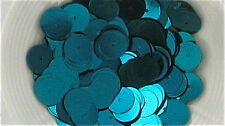 Turquoise 6mm Flat Loose Sequins