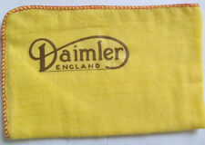 DAIMLER CARS ENGLAND:NEW LARGE HI-QUALITY CLEANING CLOTH DUSTER WITH LOGO DECAL