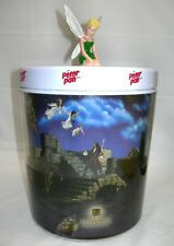 RARE~Disney Peter Pan - Tinker Bell Figure Statue~CANISTER/ICE BUCKET/COOKIE JAR