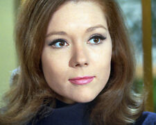 DIANA RIGG THE AVENGERS CLOSE UP COLOR 8X10 PHOTO