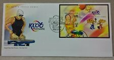 2006 Malaysia Sports 9th FESPIC Games Mini-Sheet Stamps MS fdc (KL Cachet)