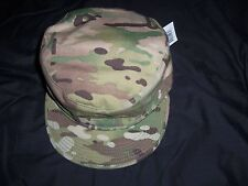MULTICAM HAT PATROL CAP size 7 1/8 NEW TAG GENUINE USA MILITARY ISSUE BERNARD Co