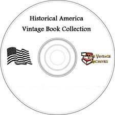 Historical America Vintage Book Collection on CD