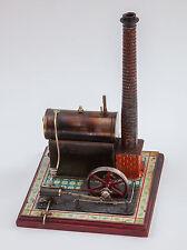 Patent Bing Dampfmaschine ca. 1905 mit schönem Fliesenmuster, schöner Zustand