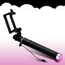 Mini Selfie Stick Wired Foldable Mobile Phone Holder For iPhone 6S 6 5S