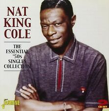NAT KING COLE - ESSENTIAL 50S SINGLE 2 CD NEU