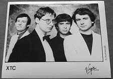 XTC  Original Virgin 8x10 Promotional Press/Publicity Photo #2