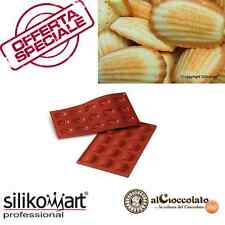 STAMPO IN SILICONE NR.15 MADELEINES SILIKOMART DOLCI PASTICCERIA SF031 CLASSIC