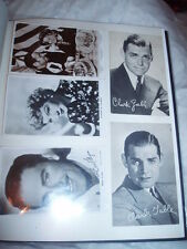 BLACK&WHITE POSTCARDS - HOLLYWOOD ACTORS FROM BACK IN THE DAY