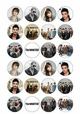 24 x The Wanted Cup Cake Toppers ICING