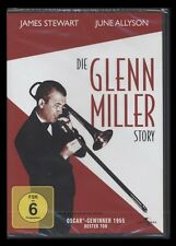 DVD DIE GLENN MILLER STORY - JAMES STEWART + JUNE ALLYSON + LOUIS ARMSTRONG *NEU
