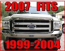 Ford 2007 Grille CONVERSION Fits 1999-2004 Super Duty 2005 2006 2007 F250 F350