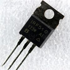 2 pcs IRF510 IRF510PBF IRF510N IT TO220 N-channel Power Transistor 100V