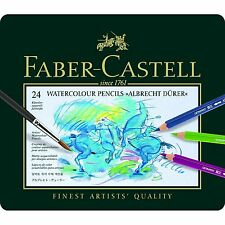FABER-CASTELL - ALBRECHT DURER- ARTISTS QUALITY WATERCOLOUR PENCILS - 24 SET