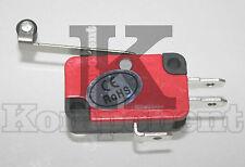 Microswitch con rotella a leva pulsante fine corsa micro switch 250 VAC 15A