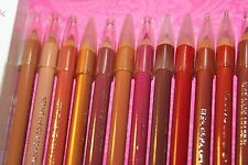 LOT OF 13 JORDANA LIP LINER  7'  MIX COLOR  UNSEALED/UNBOXED/BRAND NEW