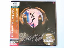 "STYX ""Crystal Ball"" Japan mini LP SHM CD"