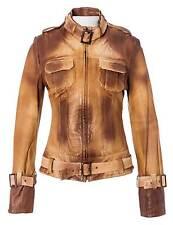 MANUEL LUCIANO Lederjacke Damen Jacke, Bikerjacke