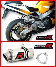 Dominator Exhaust GP I HONDA CBR 929 954 SC44 SC50 00-03 + DB KILLER