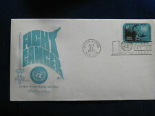 United Nations, 6 cent, Fight Cancer,  Artmaster FDC, 1970.