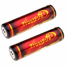 2x TrustFire 18650 3.7V 3000mAH Li-ion Protected Rechargeable Battery for Camera